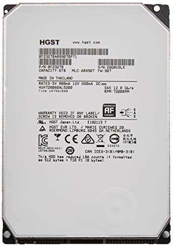 HGST Ultrastar 0F23270 He8 Helium Platform Enterprise Festplatte (6 TB, 8,9 cm (3,5 Zoll), generalüberholt)