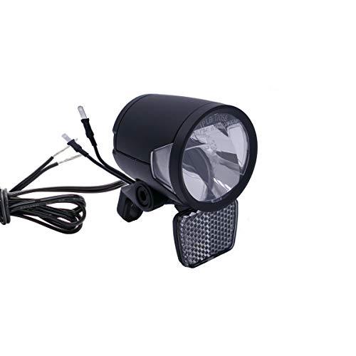 P4B | Scheinwerfer für Dynamo und Nabendynamo | 180 Lumen (ca. 60 Lux) | Integrierte LED-Kühlungselemente für eine optimale Lichtleistung bei Langen Fahrten