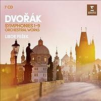 交響曲全集、管弦楽曲集 リボル・ペシェク & ロイヤル・リヴァプール・フィル、チェコ・フィル(7CD)