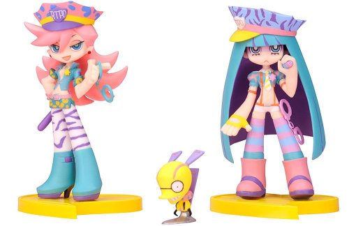 Panty & Stocking PVC Statuen Twin Pack+ Panty & Stocking mit Chuck Galaxxxy