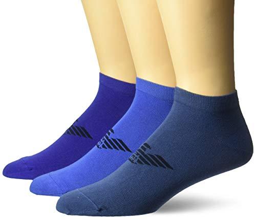 Emporio Armani Underwear Herren Socken 9p234 Blau (Bluette/Indaco/Denim 26233) 45/46 (Herstellergröße: L)