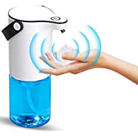 MECO Foaming Touchless High Capacity Equipped Soap Dispenser with IPX4 Waterproof Base