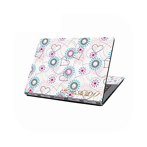 Peach-girl - Adhesivo decorativo universal para ordenador portátil de 12', 13,3', 14', 16', 17', HP Dell Lenovo Compaq Acer-43251-13 pulgadas (35 x 26 cm)