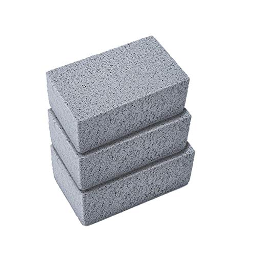 Great Price! SUJING 3pcs 026045278204Griddle Grill Cleaning Brick-A Magic Stone for Safely and Quick...