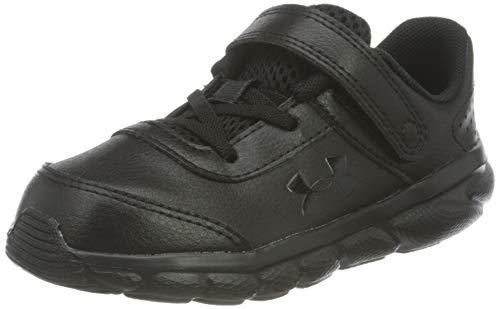 Under Armour Assert 8, Zapatillas para Correr de Carretera Niños, Black/Black/Black (001), 26 EU