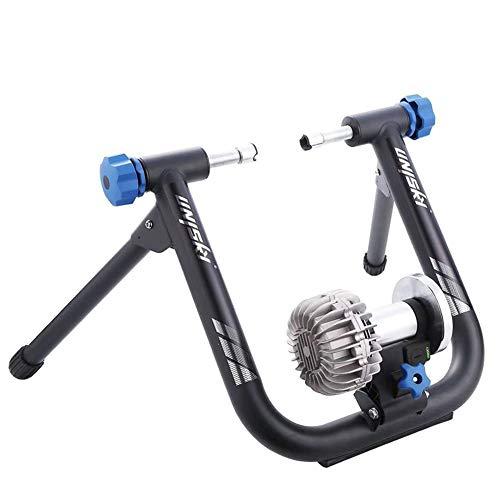Fiets Indoor Oefening Magnetische Standaard Bike Trainer Stand Sluit Aan Op Fietsspellen En Fitness-Apps, Voor Mountainbikes En Racefietsen,A