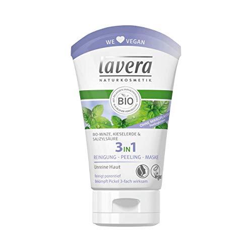 Lavera 3in1 Reinigung - Peeling - Maske Bio-Minze 6er Pack (6 x 125ml)