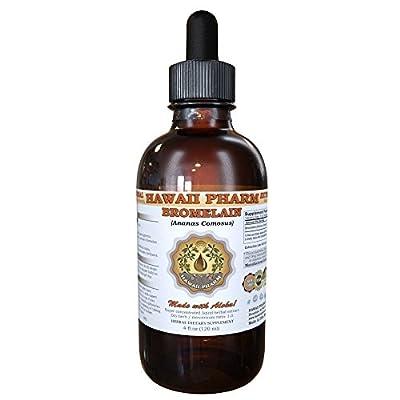 Bromelain Liquid Extract, Bromelain (Ananas Comosus) Powder Tincture Supplement 4 oz