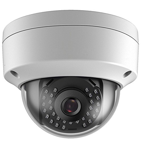 Hikvision Compatible Onvif IP Camera, 5MP PoE IP Dome Security Camera, 2.8mm Wide Angle, H.265 Onvif IP66 Waterproof Built-in Mic, Compatible with DS-7608NI-Q2/8P, DS-7616NI-Q2/16P Series NVR