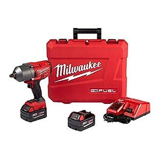 Milwaukee Fuel High Torque 1/2 Impact Wrench w/Friction Ring Kit (B0754MTTCL) | Amazon price tracker / tracking, Amazon price history charts, Amazon price watches, Amazon price drop alerts