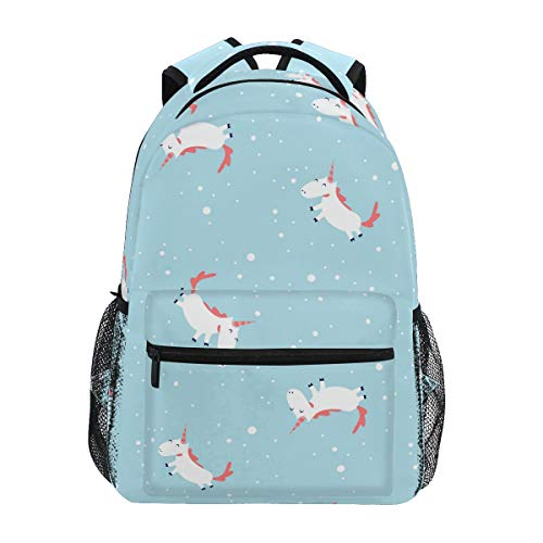 Cute Unicorn Backpack BookBag for Boys Girls Elementary School 2021814