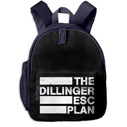 Hdadwy La Mochila para niños Dillinger Escape Plan para niños y niñas, la Apariencia es de Moda, Muy práctica.