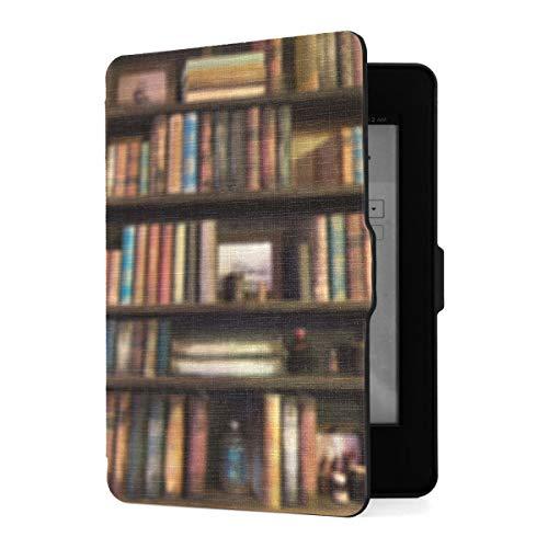 Hülle für Kindle Paperwhite 1/2/3 Generation E-Reader Cover Viele alte Bücher im...