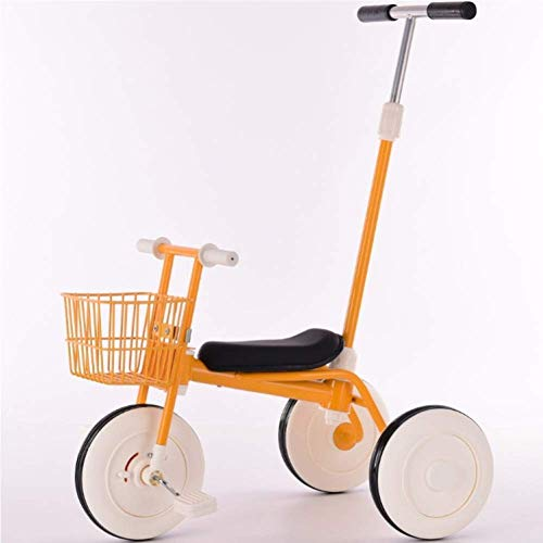 Buy Zjnhl Children's Fun/Children Ricycle 2 In1 Japan Imports 1.5-5years,Red (Color : Yellow)