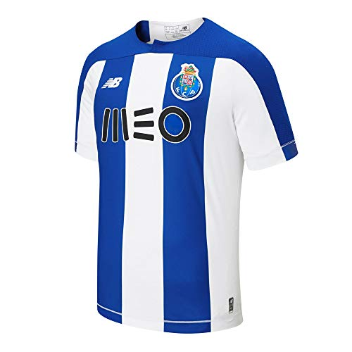 New Balance Herren FC Porto Home Ss Jersey S/s Top XL Home