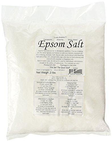 Bolek's Crafty Bubbles Epsom Salt, 2 lb