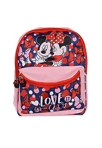 Mochila infantil Disney Minnie y Mickey Mouse