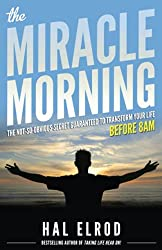 Miracle Morning is an excellent book to help improve your morning routine.