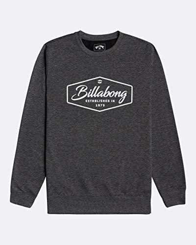 NA PALI SAS, Hossegor - BILLABONG Herren Sweatshirt Trademark - Sweatshirt Für Männer, Black, M, U1CR02