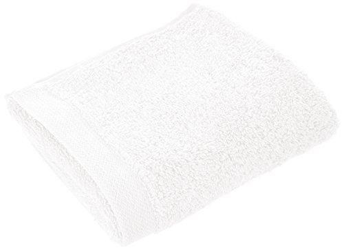 BLANC CERISE 601037 Serviette d'Invité Uni Coton Blanc Cassé