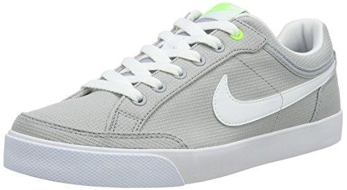 Nike Jungen Capri 3 Txt Skateboardschuhe, Grau (Wolf Grey/White-Elctrc GRN-Blk), 38 EU
