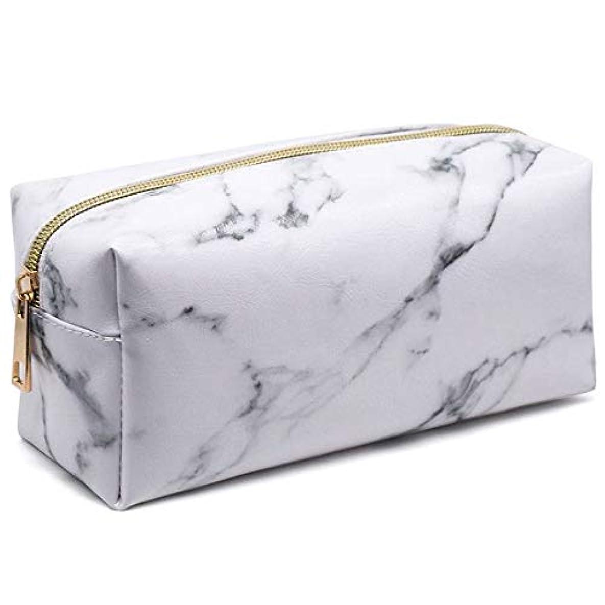 決定する。のどMoligh doll 新しいスタイルのファッション大理石多機能財布ボックス旅行メイク化粧品バッグトイレタリーペンシルケース