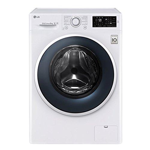 LG Electronics F 14WM 8EN0 Waschmaschine Frontlader / A+++ / 1400UpM / 8 kg / NFC - Waschprgramm -...