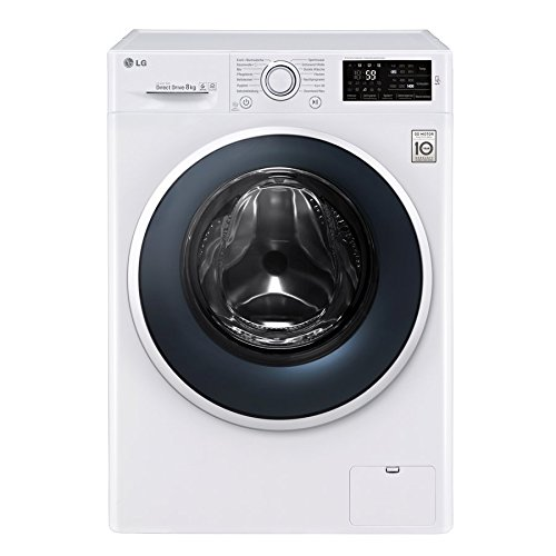 LG Electronics F 14WM 8EN0 Waschmaschine Frontlader / A+++ / 1400UpM / 8 kg / NFC - Waschprgramm - Download / 6 Motion DirectDrive