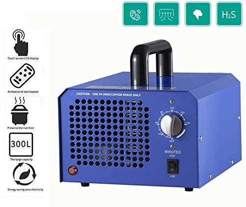 MGWA Purificador de Aire 100W De Seguridad Portátil Generador De Ozono Esterilización, Máquina De Ozono For El Hogar, Verduras Coche del Purificador del Esterilizador De Frutas del Filtro De Aire For