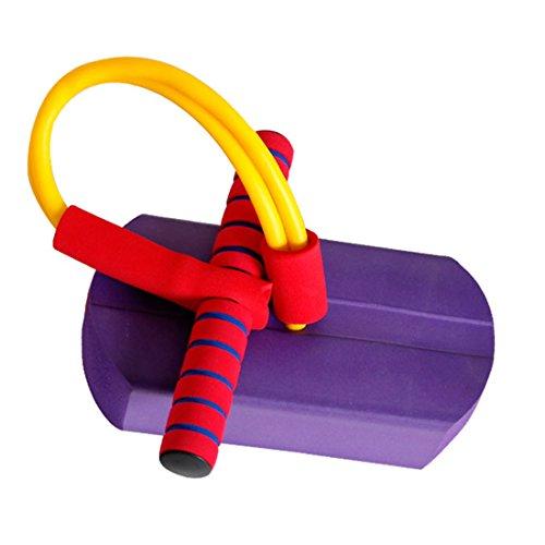 Suyi Bâton Sauteur Mousse/pogo Stick Grinçant/Jeu d'enfant à partir de 3 Ans Cadeau Noël