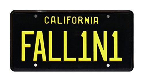 Lucifer | FALL1N1 | Metal Stamped License Plate