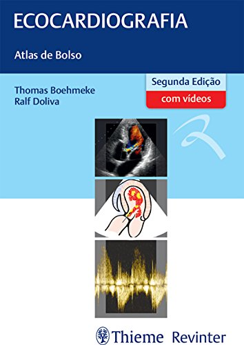 Ecocardiografia: Atlas de Bolso (Portuguese Edition)