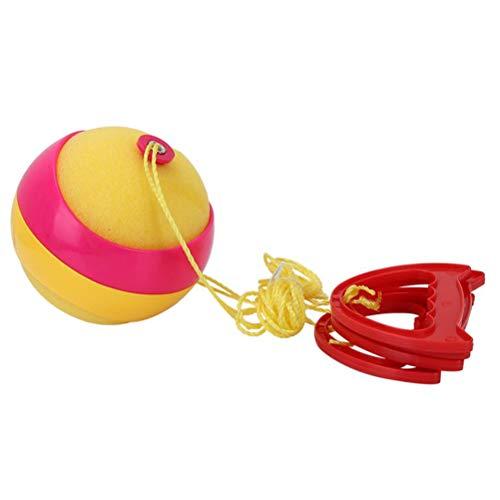 Brain Game WOQOOK Kunststoff Kinder Sport Shuttle Pull Ball Spielzeug Fitness Pull Ball Kindergarten Sense Training Equipment Pull Ball bunt