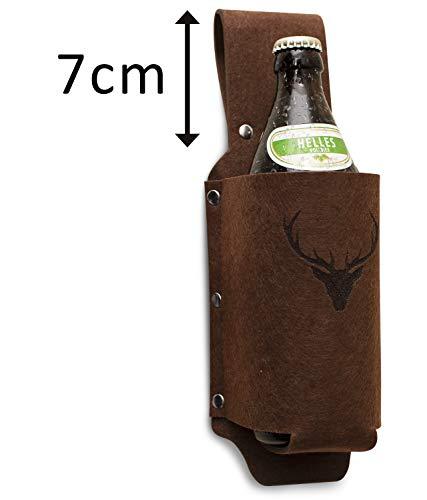 Bierholster Biergürtel Geschenk / Geschenkidee für Männer / Grillgeschenk / Männergeschenk