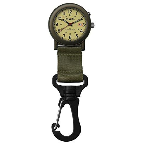 Light Backpacker Watch Green
