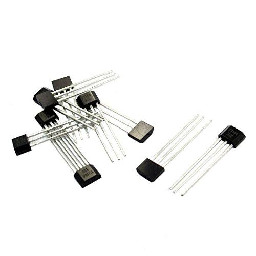 Hall Effekt Sensor - SODIAL(R) 10 Stueck Y3144 Sensitiver Halleffekt Sensor Magnetdetektor 4.5-24V