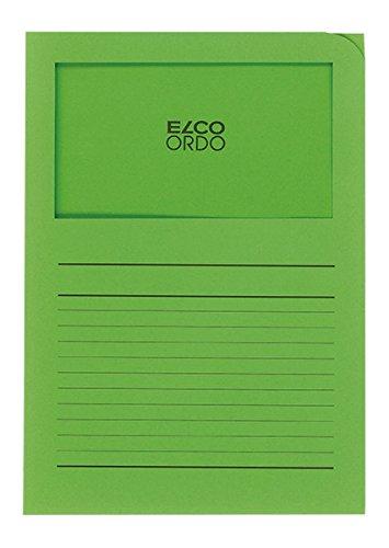 25 Pezzi colore: verde intenso Elco 29494.62/Ordo Mappe forte 320/X 245/mm 320/G