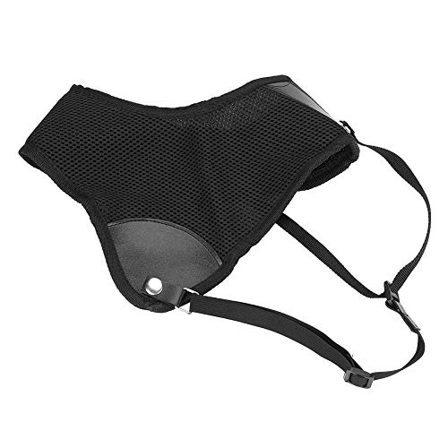 Guardia del Pecho de Tiro con Arco, Protector de Pecho de Nylon Ligero Guardia Tiro con Arco Ajustable Tiro de Caza Protector de Pecho de Caza Negro