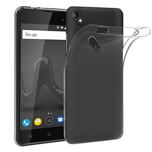 ebestStar - kompatibel mit Wiko Sunny 2 Plus Hülle Handyhülle [Ultra Dünn], Premium Durchsichtige Klar TPU Schutzhülle, Soft Flex Silikon, Transparent [Phone: 146.3 x 73.7 x 9.8mm, 5.0'']