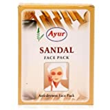 AYUR HERBAL SANDAL (Chandan) Anti-Dryness FACE PACK POWDER - (100GM6) 600 Gms by Ayur