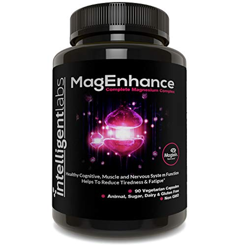 MagEnhance Magnesium Supplement, Magnesium-L-Threonate Complex, with Magnesium Glycinate and Taurate, 100% Money Back Guarantee! Vitamin Magnesium