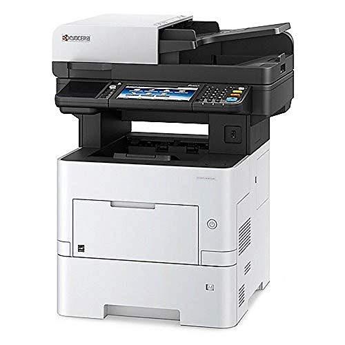 KYOCERA ECOSYS M3655idn Laser 55 ppm 1200 x 1200 dpi A4 - Impresora multifunción (Laser, Impresión en Blanco y Negro, 1200 x 1200 dpi, 100 Hojas, A4, Negro, Blanco)