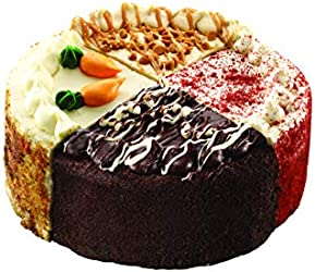 """Our Specialty 8"""" Double Layer Variety Cake, Caramel, Carrot, Chocolate & Red Velvet, 46 oz"""