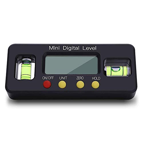 BRAVE 水平器 デジタル マグネット ミニ 水平機 デジタル表示 デジタル角度計 傾斜計 大画面 液晶 MV-SUBESOKU
