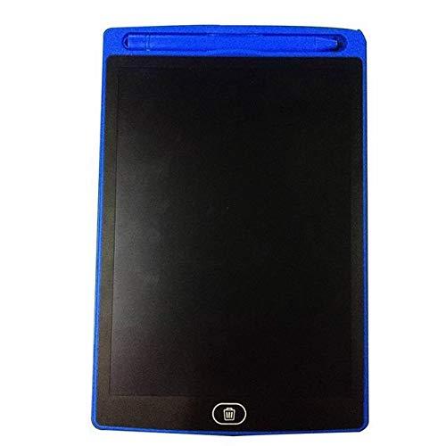 BXGZXYQ Digitaler Schreibblock for Laptop-Tafel-Stifte LCD-Lichtenergie LCD-elektronisches Brett, das kleine Tafel-Kindermalenspielwaren 8,5-Zoll-Tablet schreibt (Farbe : Blau)
