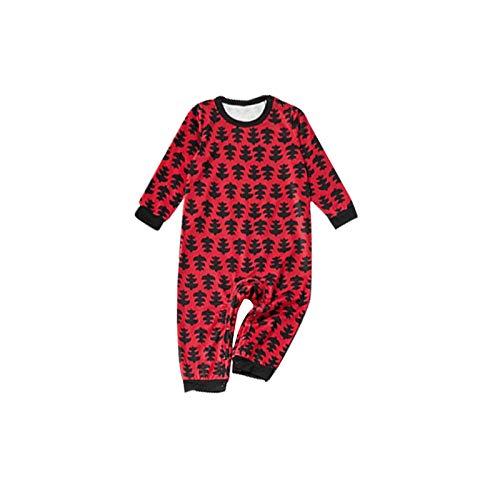 Weihnachten Familien Outfit, Lange Ärmel Schwarz Pyjamas Suit, Haus Nachtwäsche, Kind Schlafanzüge, Paar Outfit, Atmungsaktiv T-Shirt, Familien Passendes, Freizeit Pyjama Party (Baby)