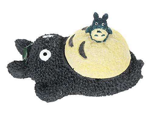 CoolChange Große Totoro Schatulle / Aschenbecher mit Chu Figur aus Resin 20x12cm