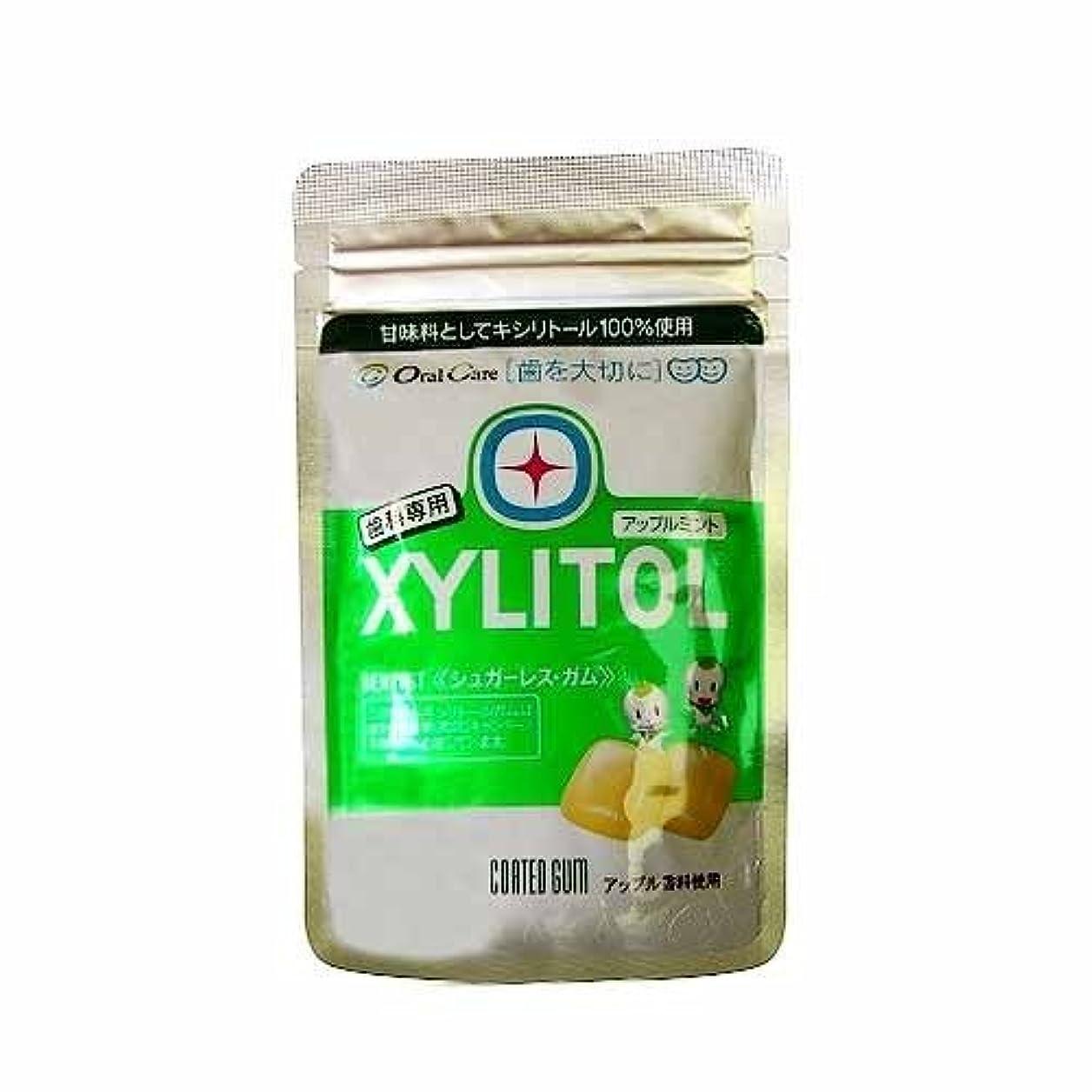 紀元前子猫最終的にキシリトールガム ラミチャック 21粒 ×8袋 (アップルミント)