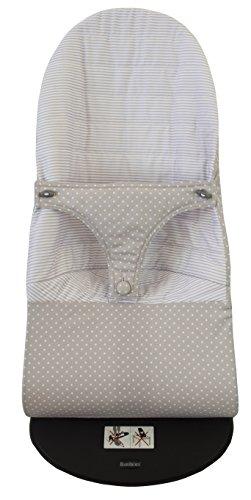 protection pour hamac babybjörn Soft Réversible (remplace tapisserie Original) Verona Gris