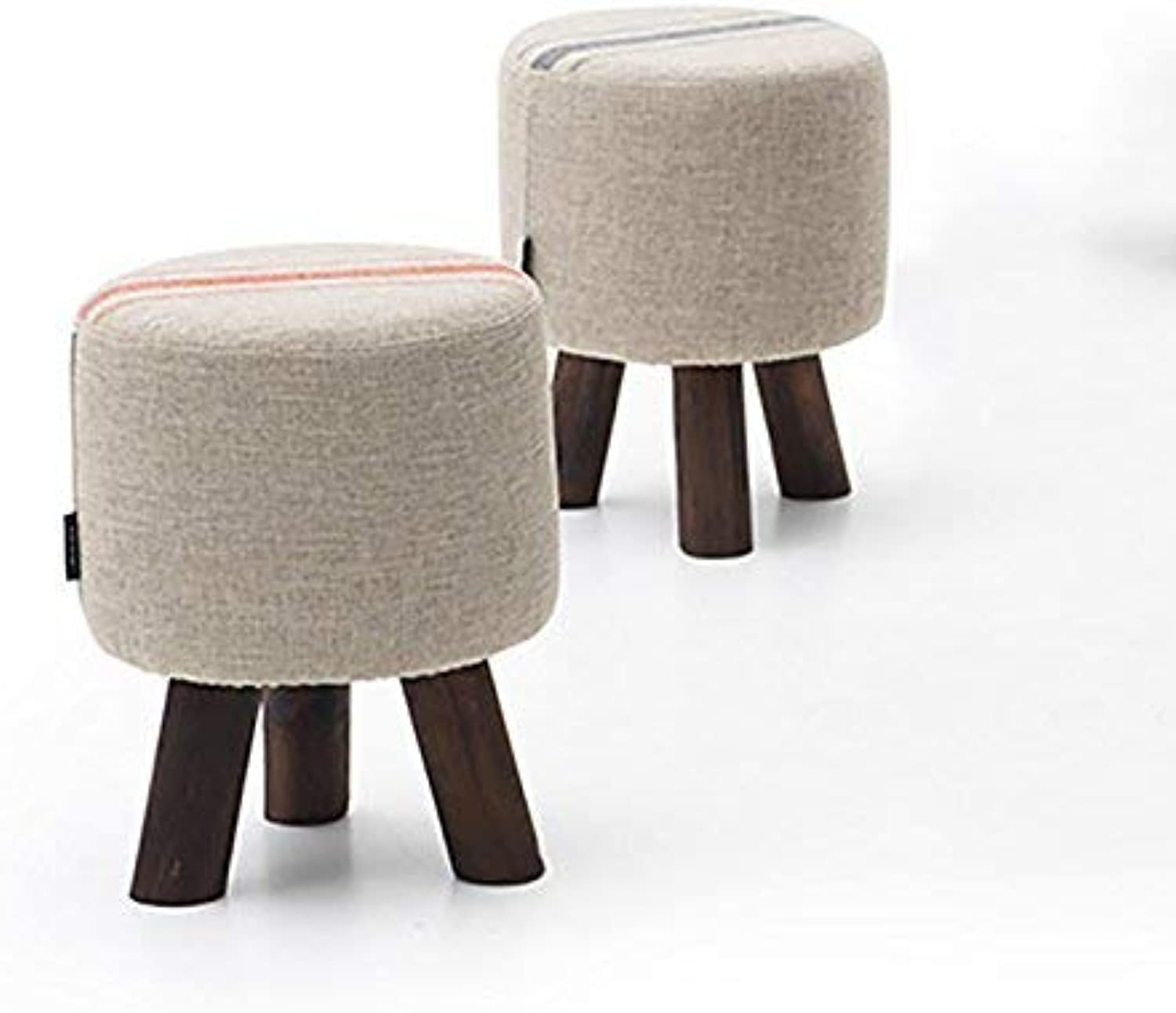 JZX Solid Wood shoes Bench, Living Room Footstool